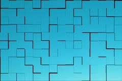 зеленые плитки текстуры Стоковые Фотографии RF