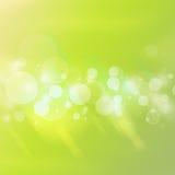 Зеленые пузыри Стоковое фото RF