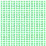 зеленые сердца Стоковые Фото