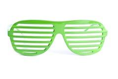 зеленые солнечные очки Стоковое Изображение