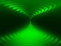 Зеленые спирали   Стоковые Изображения RF