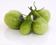 зеленые томаты груши Стоковые Фотографии RF