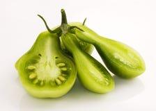 зеленые томаты груши Стоковые Изображения RF