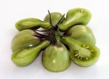 зеленые томаты груши Стоковая Фотография RF