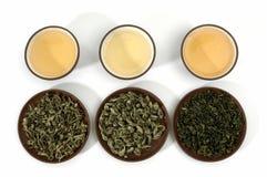 зеленые чая стоковые изображения rf