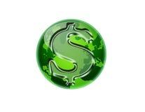 зеленые деньги Стоковая Фотография RF