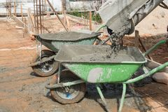 Зеленый автомобиль Стоковое Изображение RF