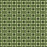 Зеленый безшовный исламский дизайн предпосылки картины формы падения Стоковые Изображения RF