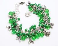 Зеленый браслет Стоковая Фотография