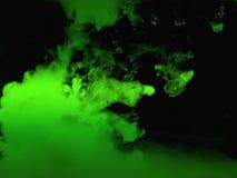 Зеленый выплеск воды для рисовать и красить и иллюстрации Стоковая Фотография