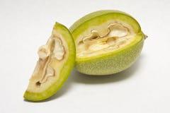 зеленый грецкий орех Стоковое Фото