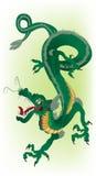 Зеленый дракон Стоковые Изображения RF