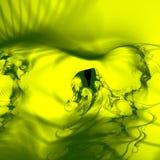 зеленый дым Стоковое Изображение RF