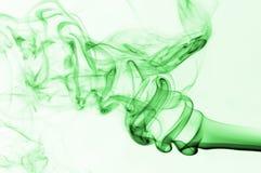 зеленый дым Стоковое Изображение