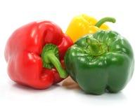 зеленый жизни перца красного цвета желтый цвет овощей все еще Стоковые Изображения RF