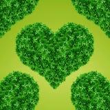 Зеленый знак сердца Стоковые Фото