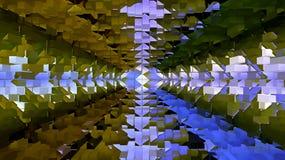 Зеленый и синь красит предпосылку для вашего дизайна Стоковое Изображение RF
