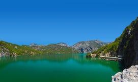 Зеленый каньон на Турции стоковое изображение rf