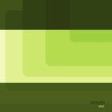 зеленый квадрат Иллюстрация вектора