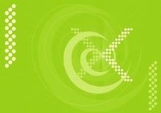 зеленый космос иллюстрация вектора