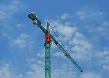 Зеленый кран Стоковые Фото