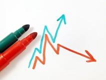 зеленый красный цвет индекса стоковые фото