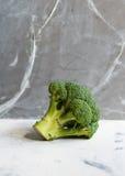 Зеленый крупный план брокколи Стоковые Изображения RF