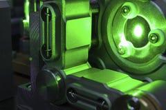 зеленый лазер Стоковое фото RF