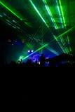 зеленый лазер Стоковые Изображения