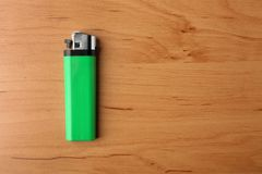 Зеленый лихтер газа Стоковое Фото
