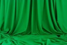 зеленый материал Стоковые Изображения RF