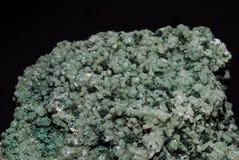зеленый минерал Стоковые Изображения