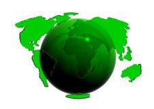 зеленый мир Стоковые Фото