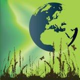 зеленый мир Бесплатная Иллюстрация