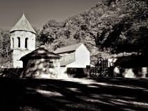 Зеленый монастырь в Грузии стоковая фотография rf