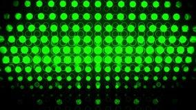 Зеленый накаляя неон объезжает абстрактную петлю предпосылки VJ движения