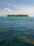 зеленый остров стоковые фотографии rf