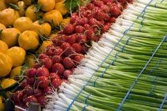 зеленый померанцовый красный цвет продукции Стоковые Изображения