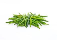 Зеленый пук chili Стоковое Изображение