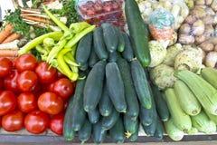 зеленый рынок Стоковая Фотография RF
