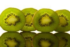 зеленый рядок кивиа Стоковые Изображения RF