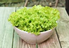 Зеленый салат, здоровый зеленый салат Стоковые Фото