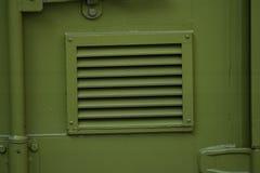 зеленый сброс металла Стоковое фото RF
