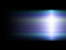 зеленый свет влияния предпосылки голубой Стоковая Фотография