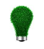 зеленый свет травы электрической энергии bu относящий к окружающей среде Стоковые Фото