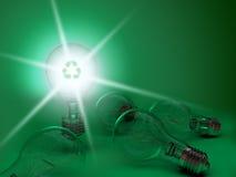 зеленый свет шариков Стоковые Фотографии RF