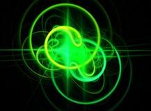 зеленый свет Стоковое Фото