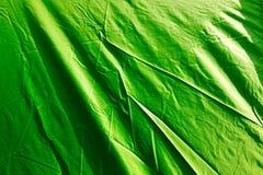 Зеленый тент как предпосылка стоковое фото rf
