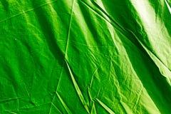 Зеленый тент как предпосылка стоковое фото