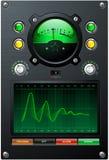 зеленый том метра Стоковое Изображение